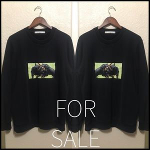 Givenchy Rottweiler print sweater